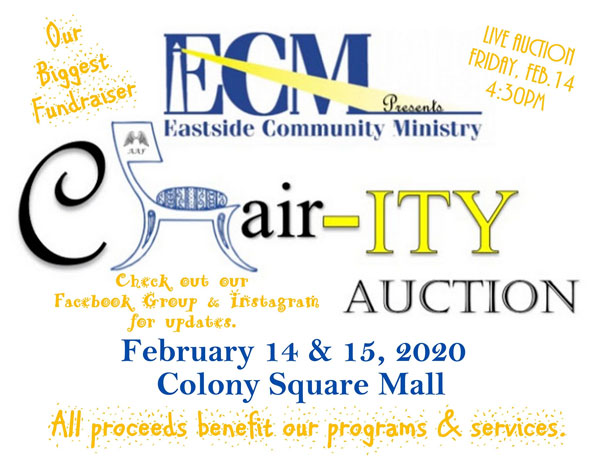 Eastside Community Ministry Charity Auction