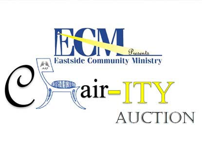Eastside Community Ministry CHAIR-ity Auction