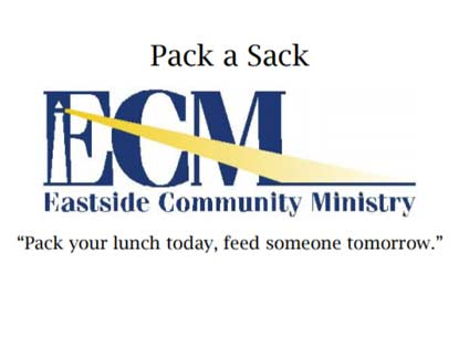 Eastside Community Ministry Pack A Sack